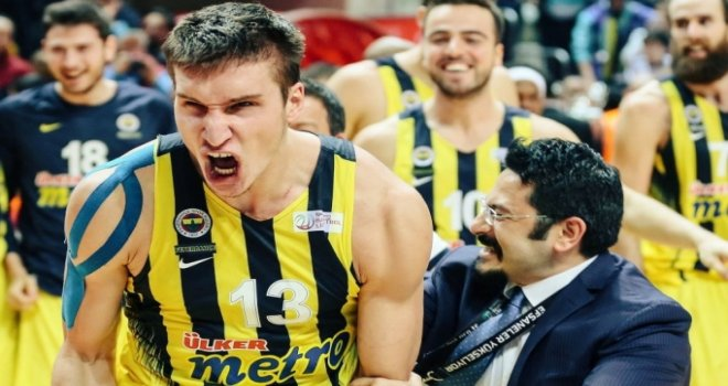 Euroleague'de Nisan ayının MVP'si Bogdanovic