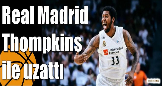 Real Madrid Thompkins ile uzattı