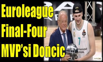 Euroleague Final-Four'un MVP'si Doncic