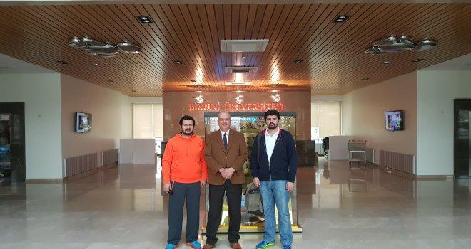 Dostluk Spor ile Biruni Üniversitesi yakınlaşması...